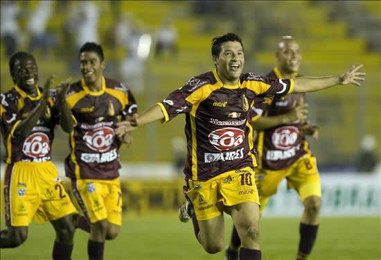 Deportes Tolima 2-2 Independiente de Avellaneda. Foto: EFE