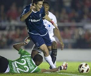 Independiente igualó en Avellaneda con Liga de Quito