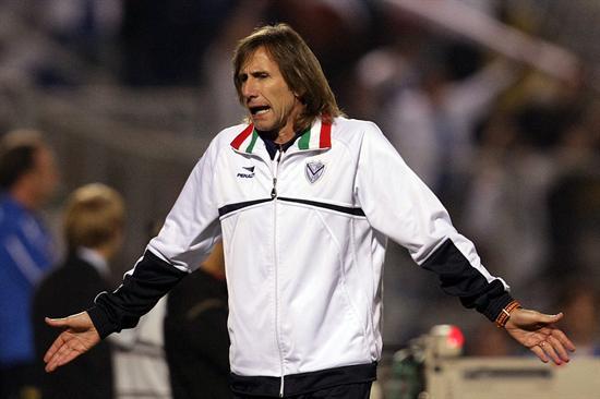 El entrenador de Vélez Sarsfield, Ricardo Gareca/EFE