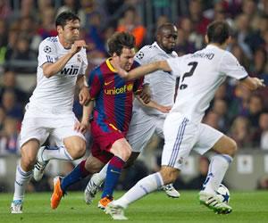 Barsa volvió a demostrar su supremacía sobre Madrid, a pesar del empate