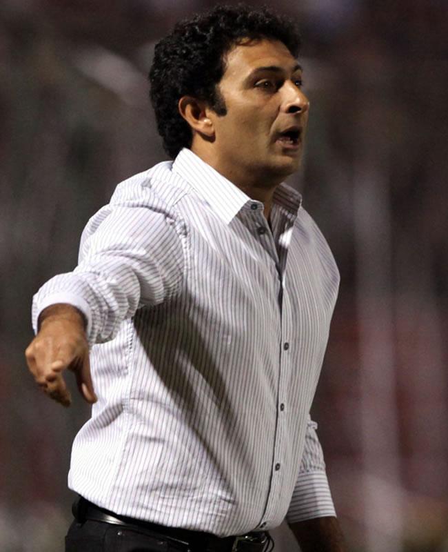 El director técnico de Cerro Porteño, el argentino Leonardo Astrada/EFE