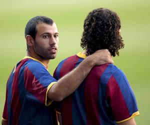 """Mascherano: """"Yo vine a sumar, ya sea en el césped o desde la grada"""""""