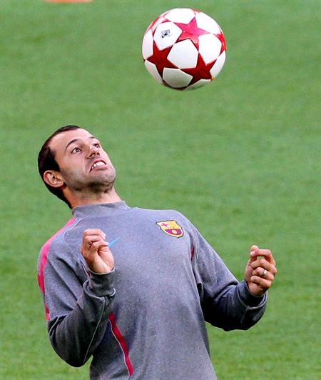 El centrocampista argentino del FC Barcelona Javier Mascherano/EFE
