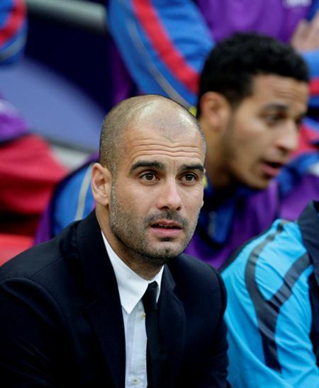 El entrenador del FC Barcelona, Josep Guardiola/EFE