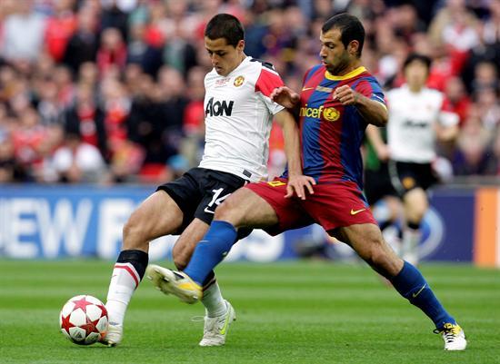 El mexicano del Manchester U. Javier