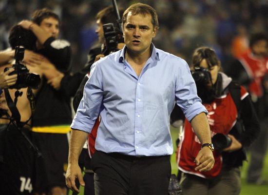 El entrenador de Peñarol de Uruguay Diego Aguirre. Foto: EFE