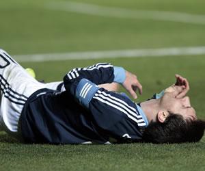 Con Messi solamente no alcanza