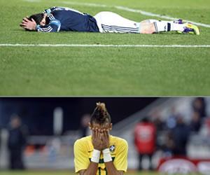Sorpresivamente Argentina y Brasil salen de la Copa América