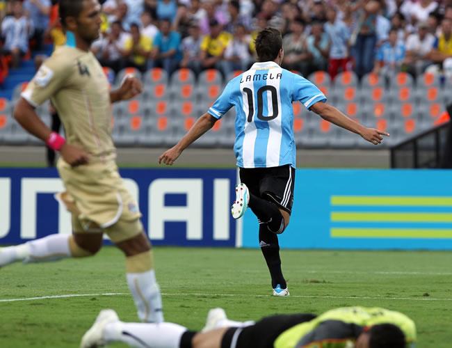 Egipto hizo sufrir a la Argentina que ingresa a los cuartos
