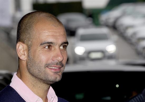 El entrenador del FC Barcelona, Pep Guardiola/EFE