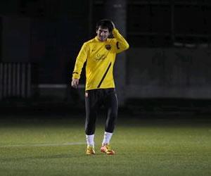 Leo Messi da otro ejemplo de profesionalismo