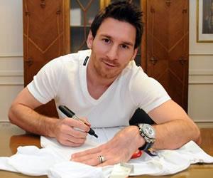 Messi: 'Ningún equipo me podría llenar como el Barcelona'