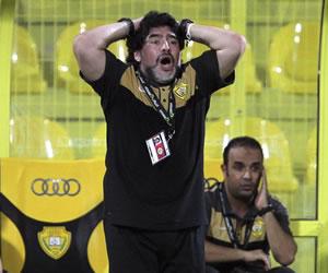 Maradona fue operado en Dubái por cálculos renales