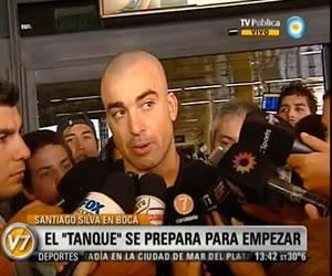 """""""Me imagino goles, me imagino goleador"""", 'Tanque' Silva"""