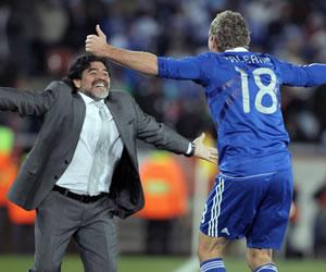 Maradona será uno de los invitados de lujo en despedida de Palermo