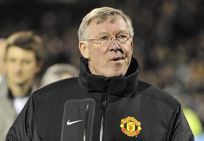 El director técnico del Manchester United, Alex Ferguson. Foto: EFE
