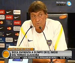 Boca enfrenta a Olímpo en el inicio de la Primera División de Argentina