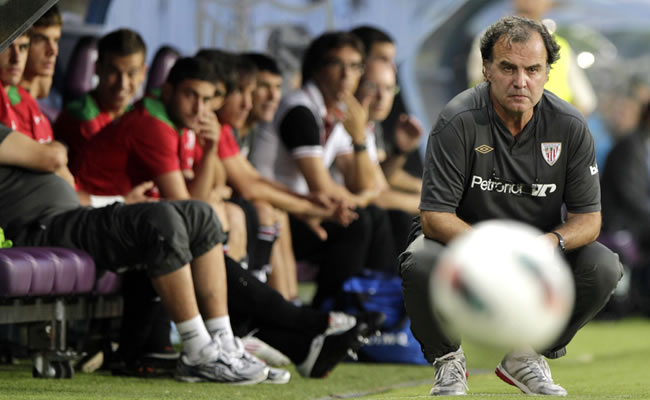Marcelo Bielsa, entrenador del Athletic de Bilbao. Foto: EFE