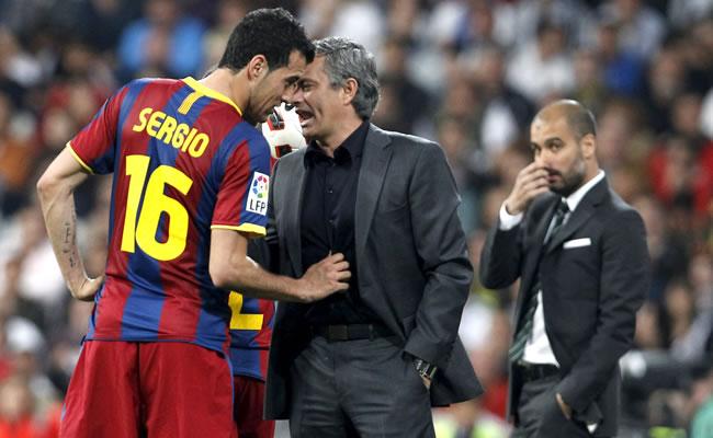 Real Madrid-Barcelona y sus discusiones. Foto: EFE
