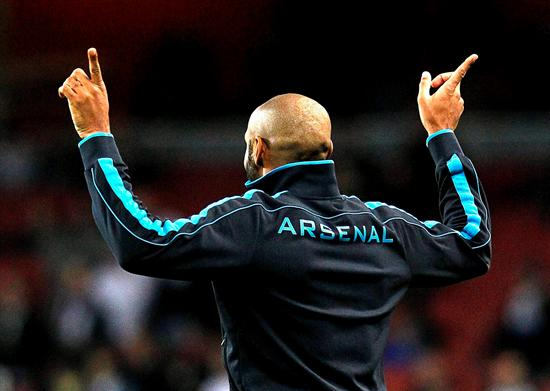 Henry se despedirá de Arsenal londinense ante el AC Milán por la Champions. Foto: EFE