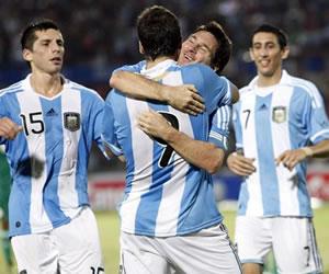 Messi, Di María e Higuaín, citados por Sabella para amistoso frente a Suiza. Archivo EFE