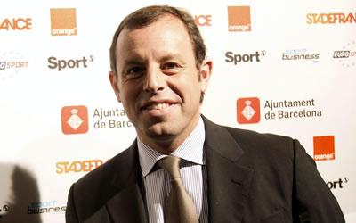 Sandro Rosell, presidente del FC Barcelona. Foto: EFE