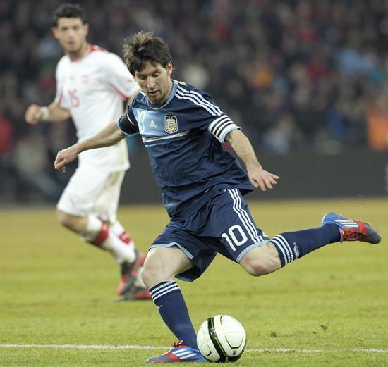 Leo Messi (FC Barcelona y selección argentina). Foto: EFE
