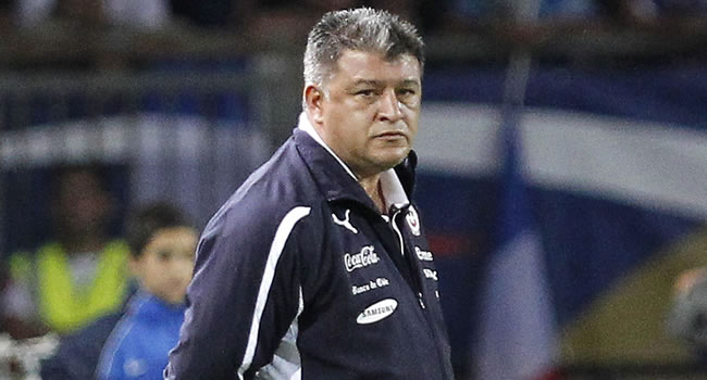 El argentino Claudio Borghi, DT de Chile. Foto: EFE