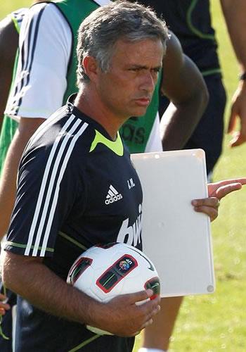 José Mourinho, DT del Real Madrid. Foto: EFE