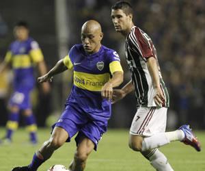 Boca sin Riquelme visita a un Fluminense que quiere adueñarse de la mejor campaña