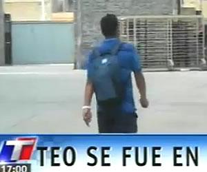 Teo se peleó con sus compañeros luego de la derrota en el clásico de Avellaneda