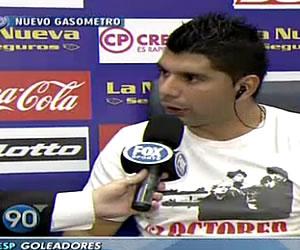 """Nosotros tenemos mucha presión"": Ortigoza"
