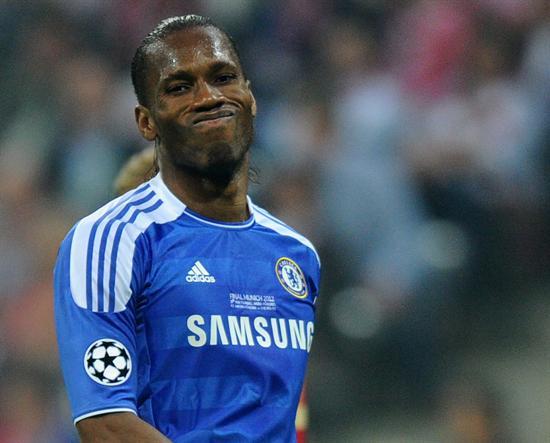 El jugador del Chelsea Didier Drogba. Foto: EFE