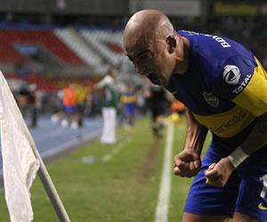 Silva pone a Boca en semifinales con un gol en el último minuto