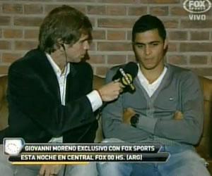 Gio Moreno se quiere quedar en Racing