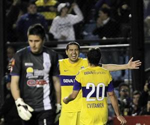 Ante Godoy Boca gana y amplía su ventaja en el liderato del Clausura