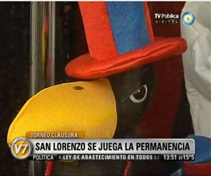 San Lorenzo se juega la permanencia