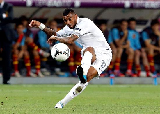 El jugador de la selección francesa, Yann M'Vila. Foto: EFE
