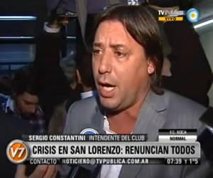 Crisis en San Lorenzo renuncian todos