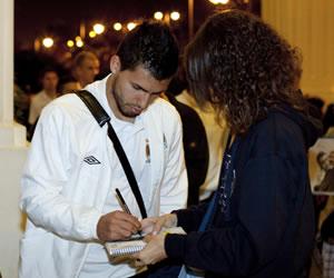 Sergio 'Kun' Agüero (Manchester City). Archivo EFE