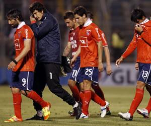 Independiente no pudo y un doblete de Ríos pone a la Católica en semifinales