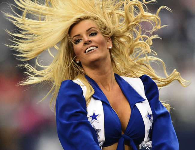 Chearleader Dallas Cowboys. EFE