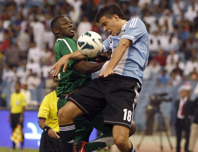 Argentina y Messi no pudieron con Arabia Saudita en Riad