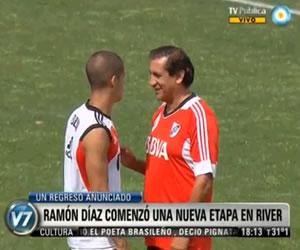 "Ramón Díaz: ""Empiezo de cero"""