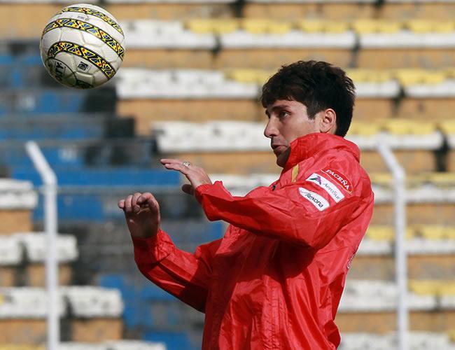 El jugador de la Selección de Bolivia, Ronald Raldes. Foto: EFE