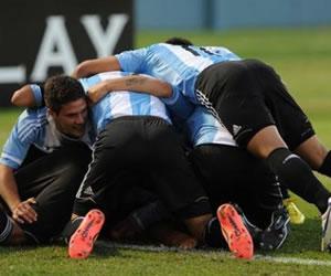 Argentina gana el Sudamericano por diferencia de goles sobre Venezuela. Foto Internet