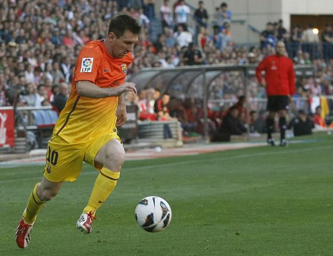 El delantero argentino Lionel Messi. EFE