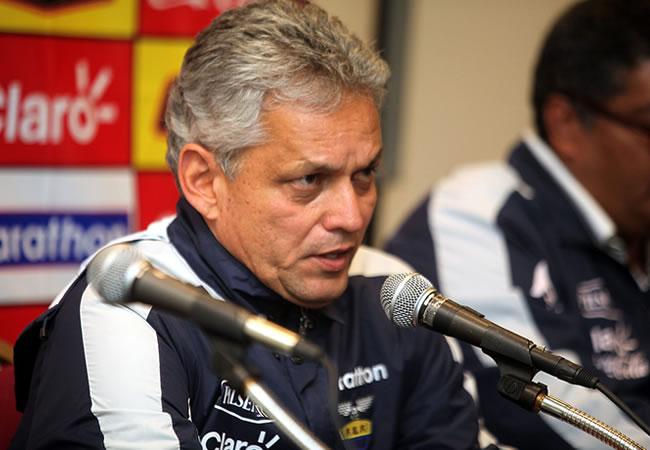 El seleccionador colombiano de Ecuador, Reinaldo Rueda. Foto: EFE