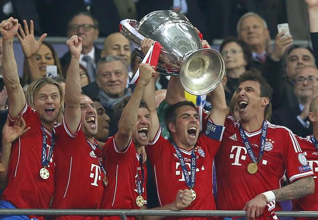 Bayern logra su quinto título e iguala al Liverpool
