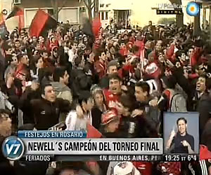 Newell's Old Boys es el nuevo campeón del fútbol argentino